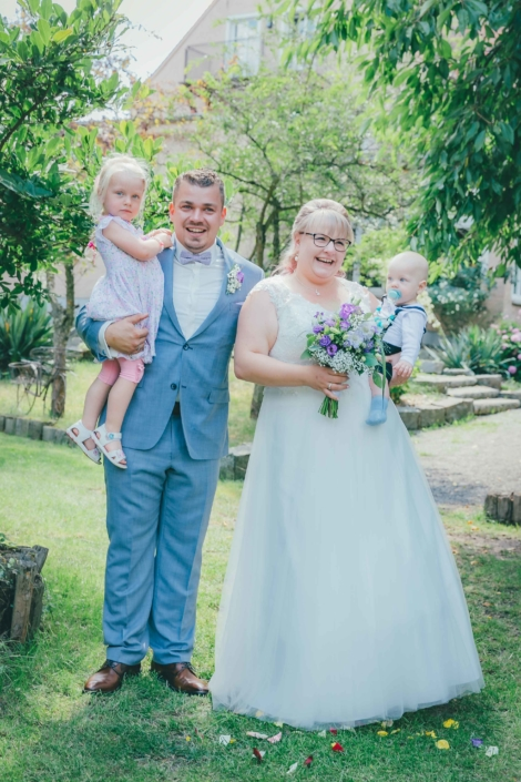 Hochzeit freude