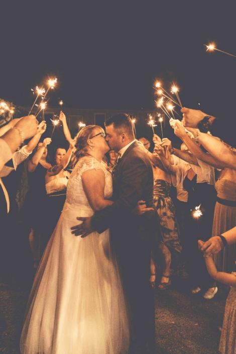 Hochzeit Hochzeitskuss